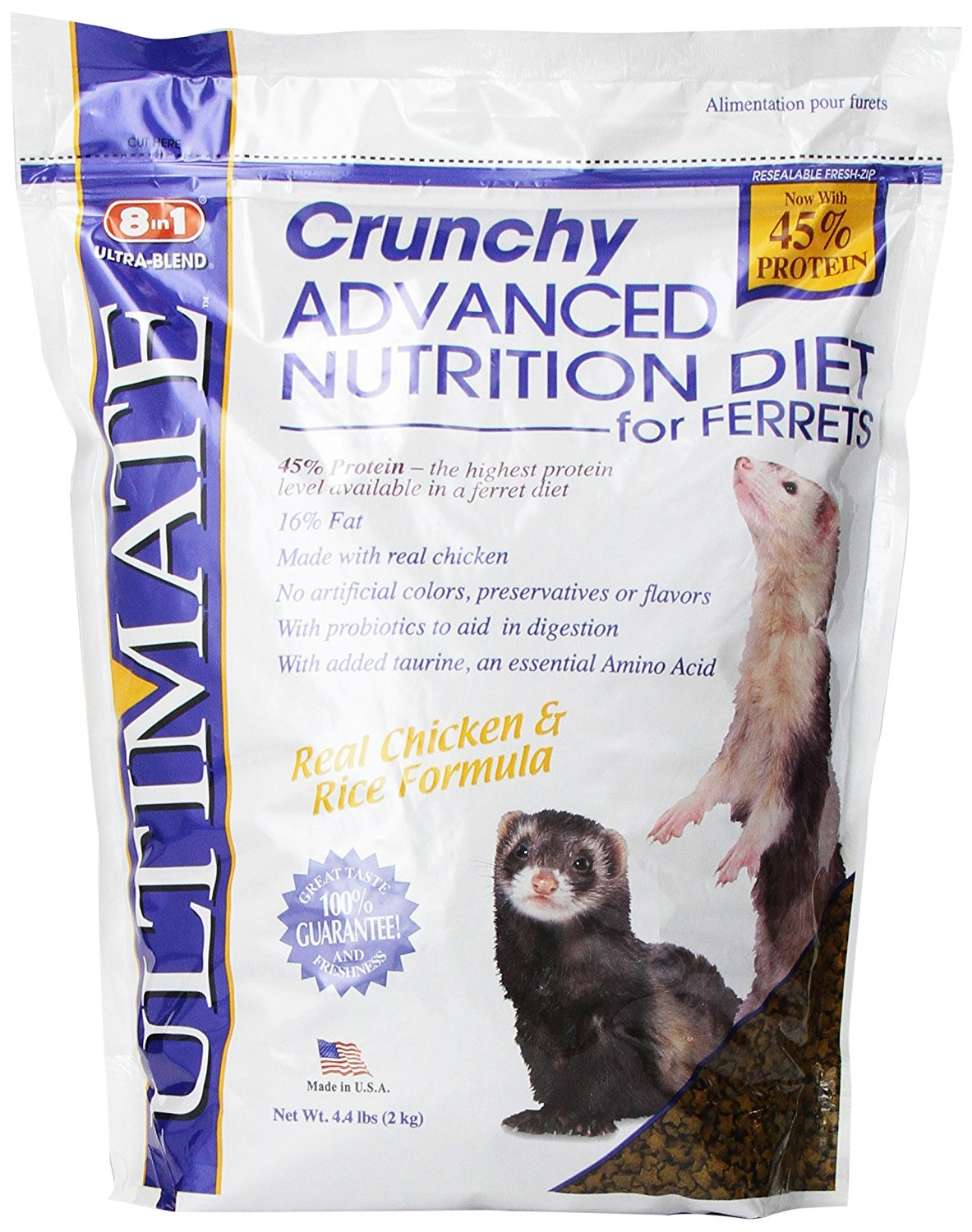 Natural Gold Ferret Food Good