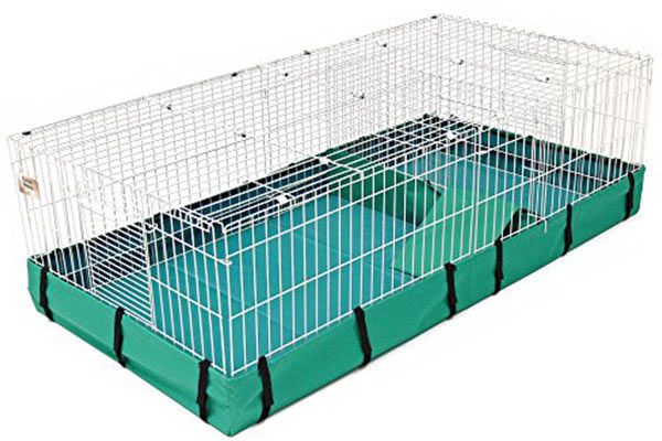 The Midwest Guinea Pig Habitat can be sufficiently extended to give enough space for 3 guinea pigs