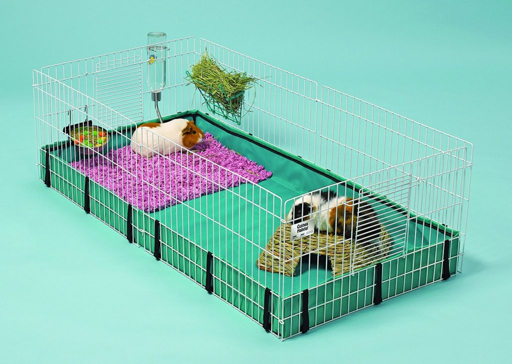 Guinea Pig Cage Size Guide - This cage is suitable for one guinea pig.