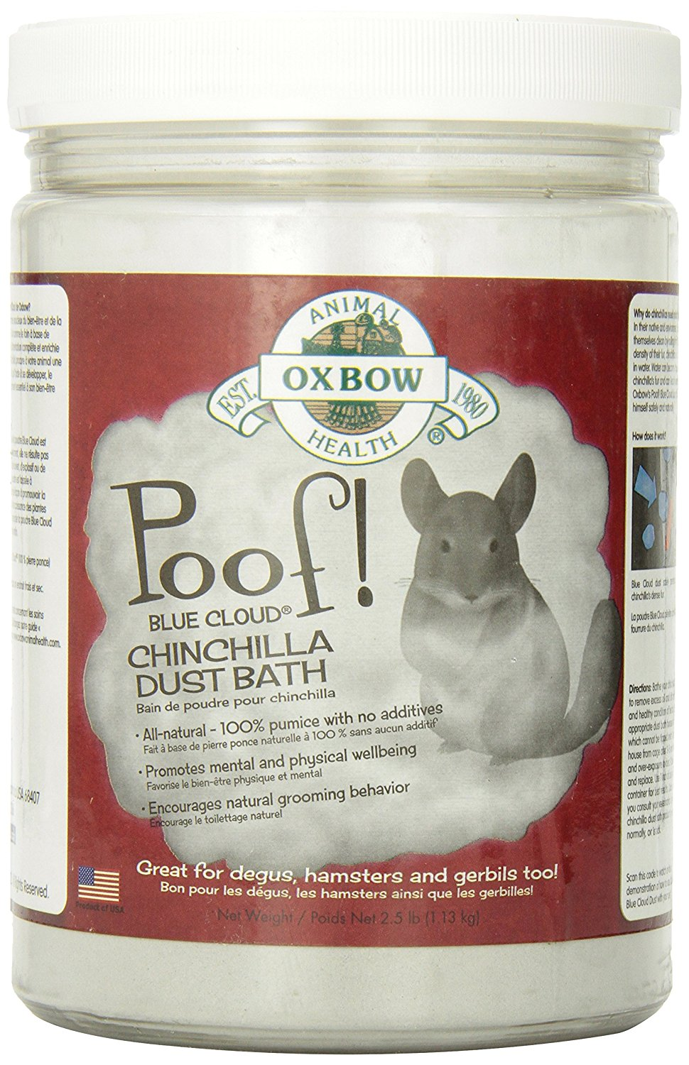 chinchilla bath dust