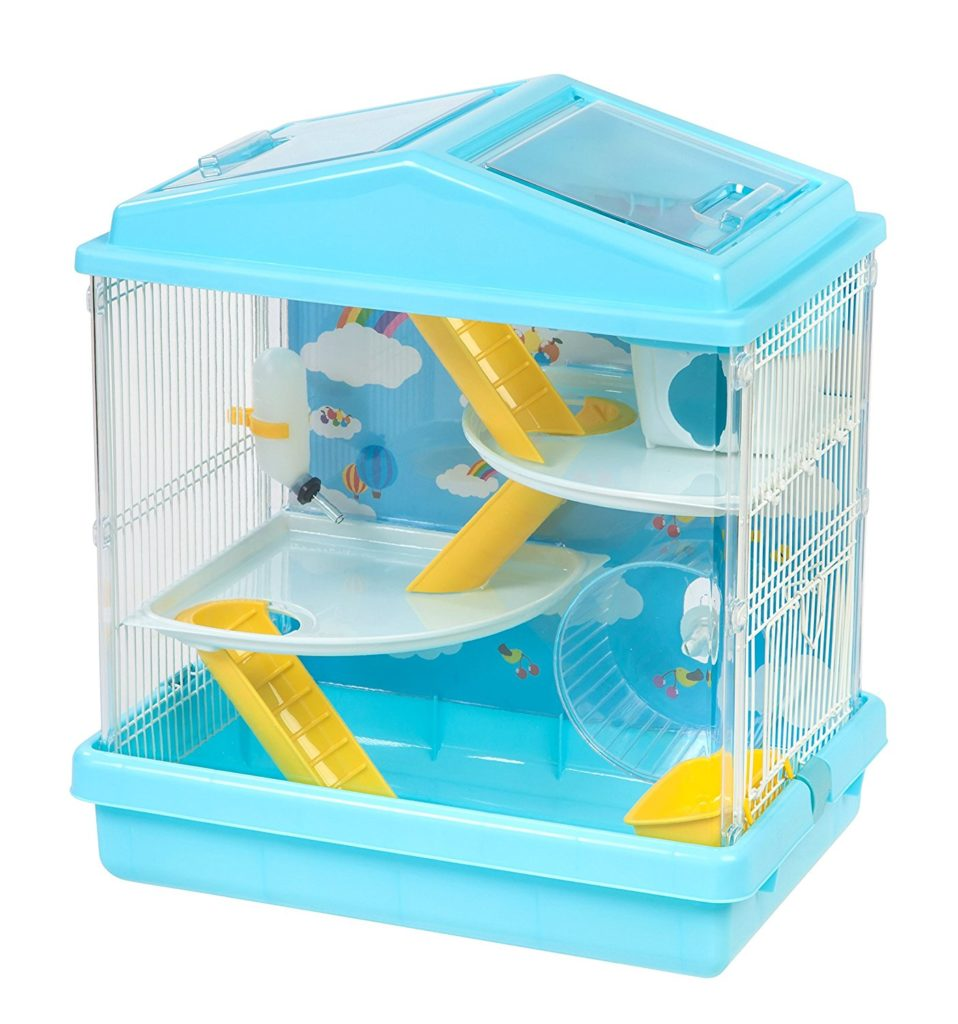 The Iris Hamster And Gerbil Cage Is Also Very Cute It Comes In A Lovely Fun Color Combination Has Three Levels For Your To Explore