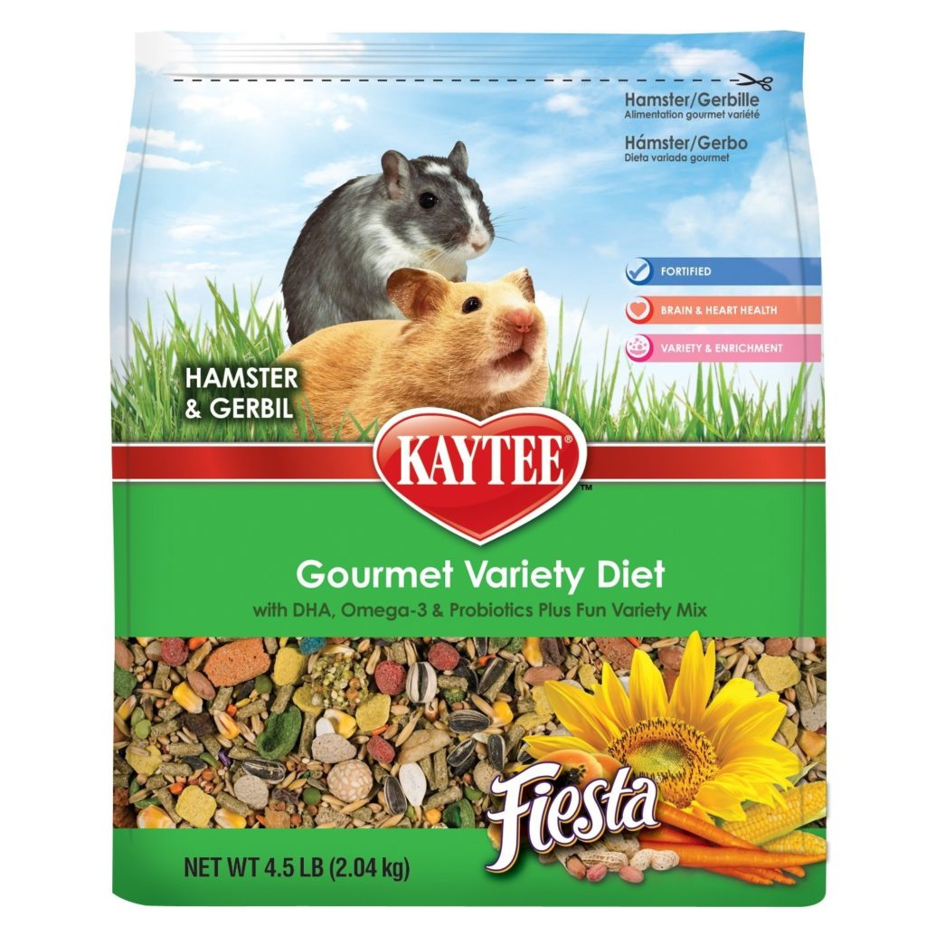 best roborovski hamster food