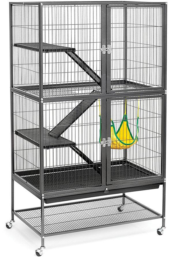 3 Levels Ferret Chinchilla Sugar Glider Rats Animal Cage