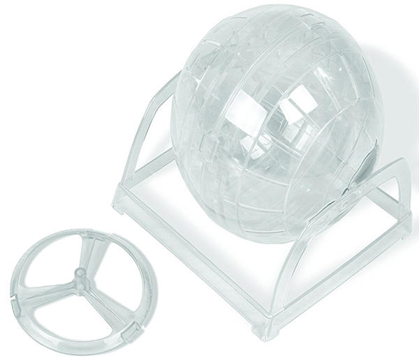 hamster ball with stand