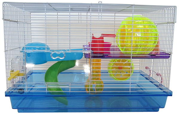 cool hamster cage