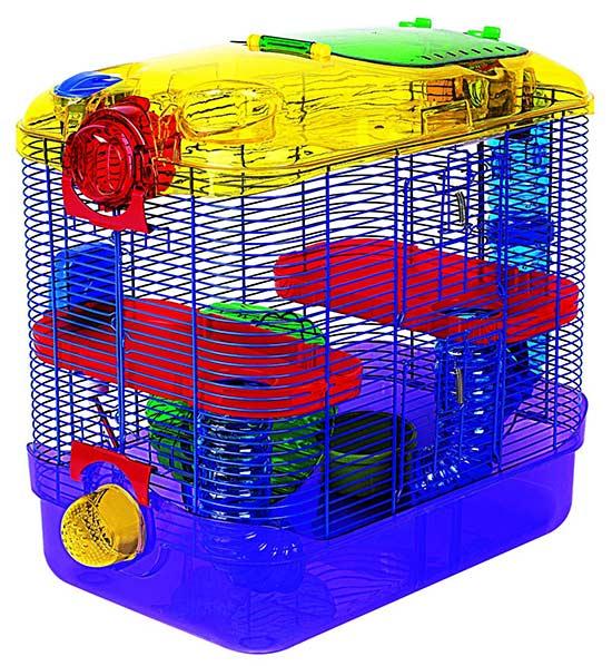 modular hamster cage