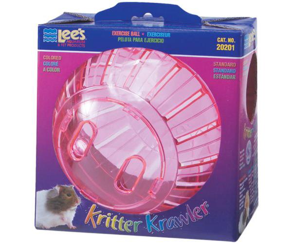 pink hamster ball