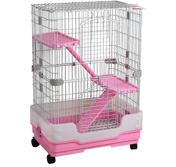 best pink hamster cages