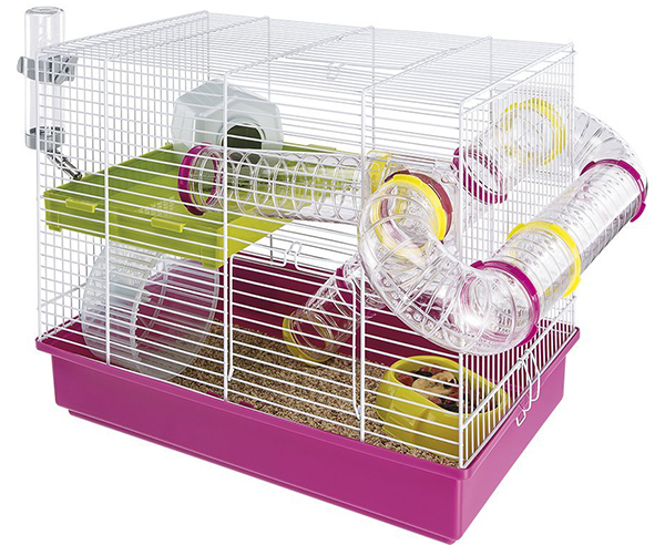 best pink hamster cages