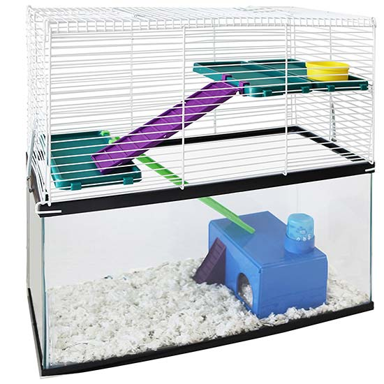 hamster cage tank topper