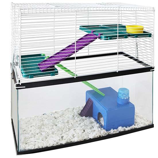 hamster cage tank topper