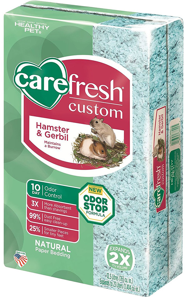 carefresh hamster bedding