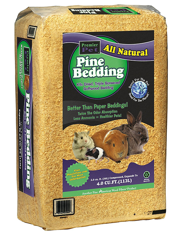 all natural pine bedding