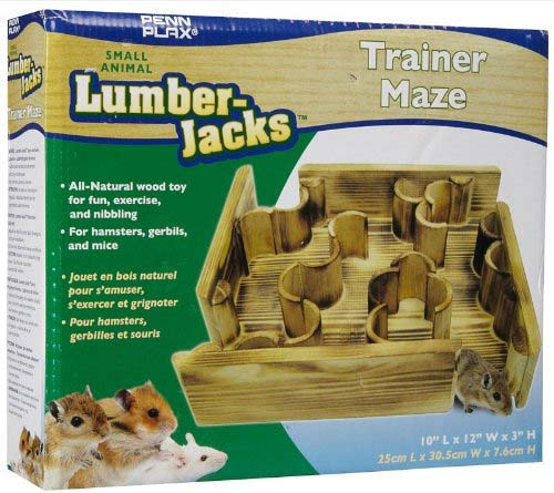 how to build a hamster maze